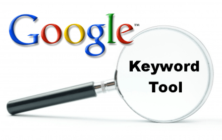 online marketing - google keyword tool