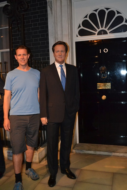 David Cameron, britský premiér, Museum Madame Tussauds, Londýn