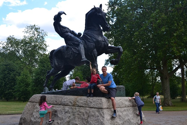 Physical Energy Statue, Kensington Gardens, Londýn